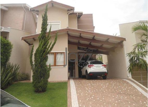 Linda Casa Com 3 Dormitórios À Venda, 162 M² Por R$ 1.100.000 - Parque Rural Fazenda Santa Cândida - Campinas/sp - Ca5748