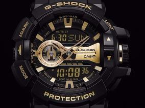 Relogio Casio G-shock Ga-400gb-1a9 Manual Original!!!