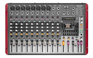 Proco Cr 1208 Consola Audio Mixer Potenciada 12 Fx Usb Bt