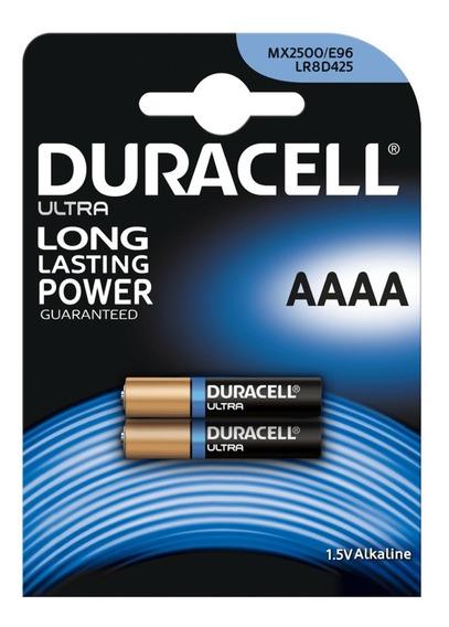 Pilha Aaaa Duracell - Cartela 2 Unidades