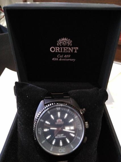 Relógio Orient Aut. King Diver - Kd Num. 370/1000 - 40 Anos