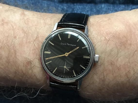Relógio Nivel Omega Girard Perregaux Luxo Grandão - Leia