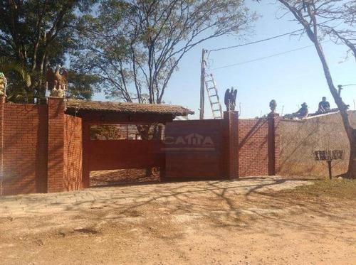Chácara Com 3 Dormitórios À Venda, 12000 M² Por R$ 5.000.000,00 - Itatiba  - Itatiba/sp - Ch0049