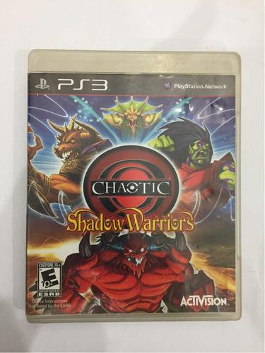 Imagen 1 de 1 de Chaotic Shadow Warriors Ps3