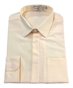 Camisa Social Masculina Microfibra 100% Poliester