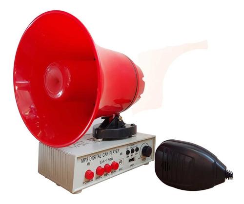 Megafono Mini Altavoz Portatil Mp3 Perifoneo