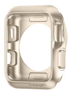 Case Spigen Apple Watch Series 1, 2 E 3 42mm Slim Armor Gold