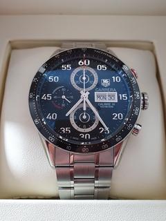 Reloj Tag Heuer Carrera Day - Date. Calibre 16. Impecable