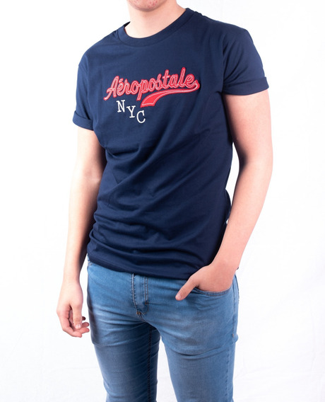 Remera Aeropostale Nyc Faithful Hombre Aero