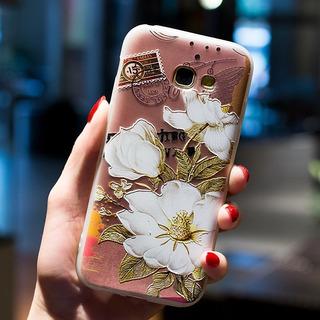 Case Capa Samsung Galaxy S7 Anti Shock Impacto Flores Postal
