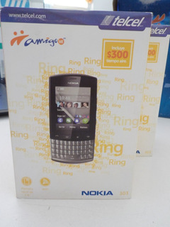 Remate Celulares Nokia 303 Touch Retro Nvo Exhibision Telcel
