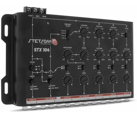 Crossover Stetsom Stx104 5 Vias Eletrônico Mono Stereo Som