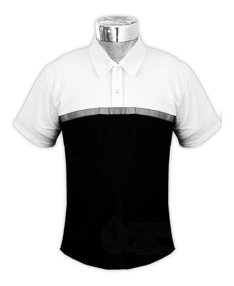 Playera Camisa Polo Con Reflejante Uniforme Policia Transito
