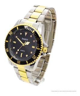Reloj Dakot Hombre 220 - Metal Estilo Office Bisel