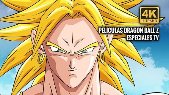 Dragon Ball Z .-- 4k-- 2190p Blu Ray Latino Completa