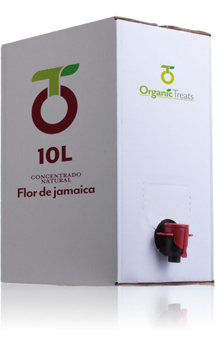Imagen 1 de 2 de Concentrado De Jamaica Bib 10 Litros