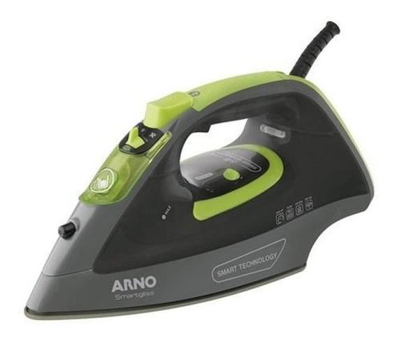Ferro A Vapor Arno Smartgliss 127v Cinza E Verde