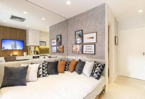 Apartamento À Venda, 28 M² Por R$ 256.000,00 - Bela Vista - São Paulo/sp - Ap2515