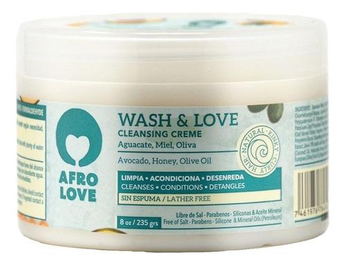 Imagen 1 de 1 de Mascarilla Co-wash Afro Love - 226g - g a $170