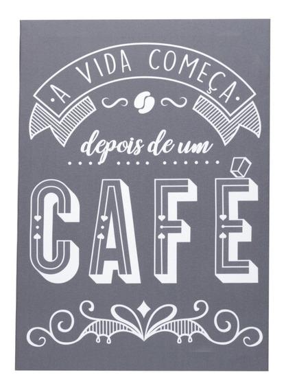 Tela A Vida Começa Depois De Um Café