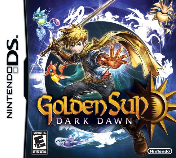 Jogo Novo Lacrado Golden Sun Dark Dawn Para Nintendo Ds