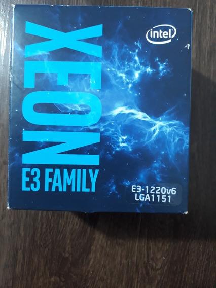 Processador Xeon E3-1220v6