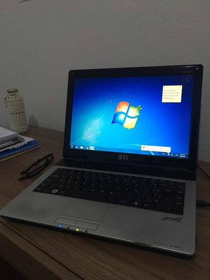Notebook Is 1412 Sti Semp Toshiba Usado Bolsa Case Logic
