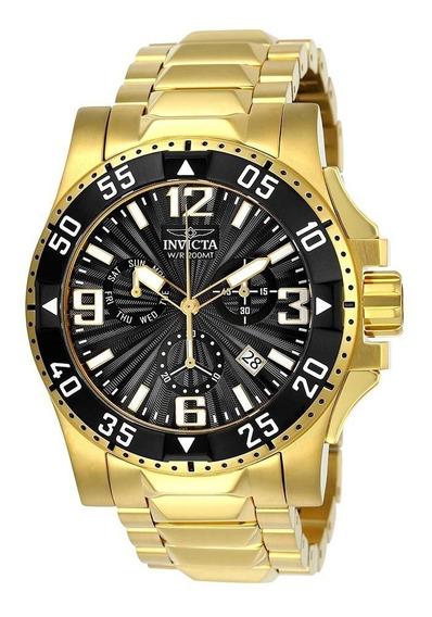Relógio Invicta 23903 De Ouro 18k + Garantia 5 Anos + Nf