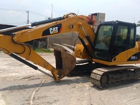 Excavadora Caterpillar 311d Año 2012