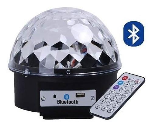Bola Maluca Dj Jogo De Luz Rgb Bluetooth Musica Pelo Celular