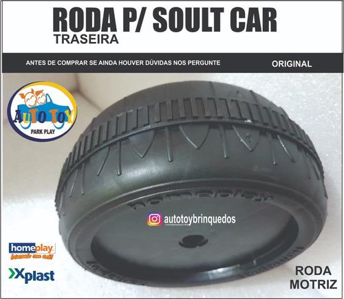 Soult Car 650 - X-plast - Homeplay - Roda Traseira/dianteira