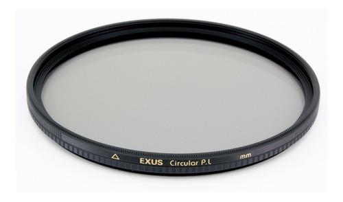 Filtro Polarizador Circular Exus Marumi 72mm Antiestatico