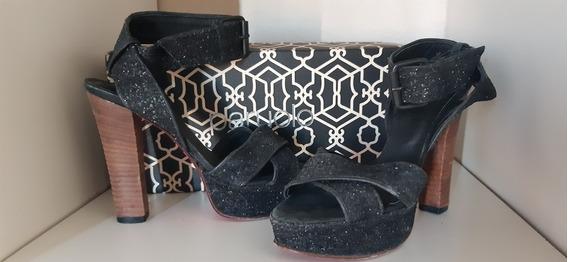 Zapatos Sandalias Paruolo Noche Fiesta