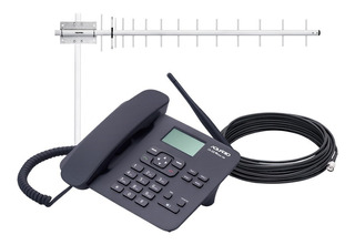 Telefone Celular Potente E Completo Com Antena E Cabo 800mhz