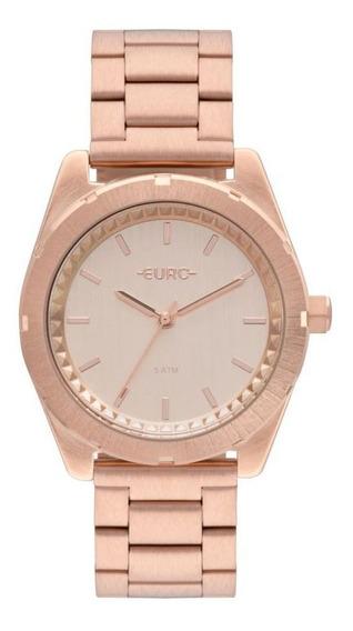 Relógio Euro Rose Feminino Eu2036ynv/4j