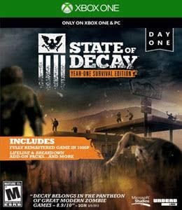 State Of Decay Year One Survival Edition Mídia Física