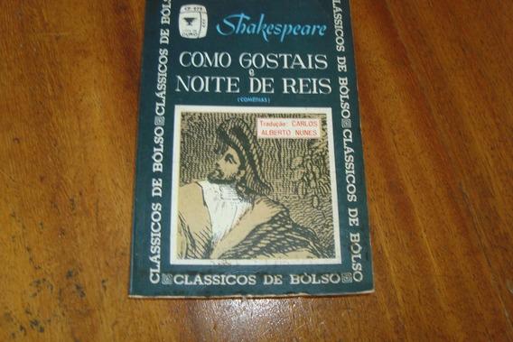 Bolsilivro Como Gostais E Noite De Reis / Shakespeare