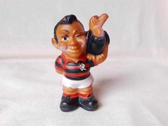 Boneco Borracha Mascote Futebol Flamengo 10,5cm Altura