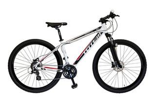Bicicleta Totem Manic Aro 29 Shimano Inteira 27v K7 Shimano