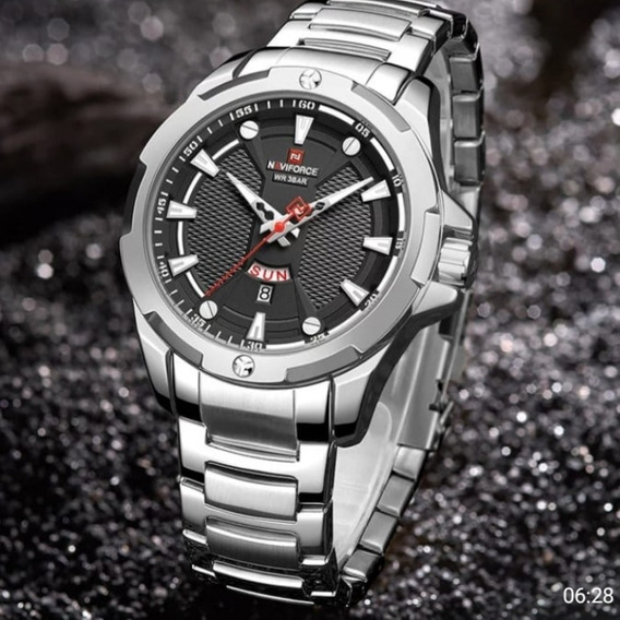 Relógio Masculino Naviforce Resistente Agua