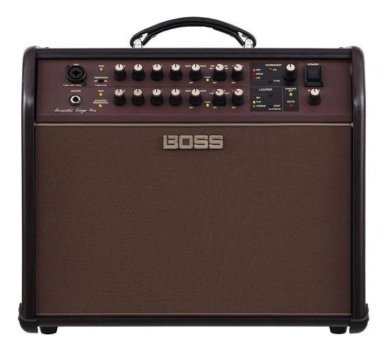 Amplificador Boss Acoustic Singer Pro 120W