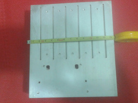 Dissipador De Calor Para Amplificador Alumínio 13cm 14cm