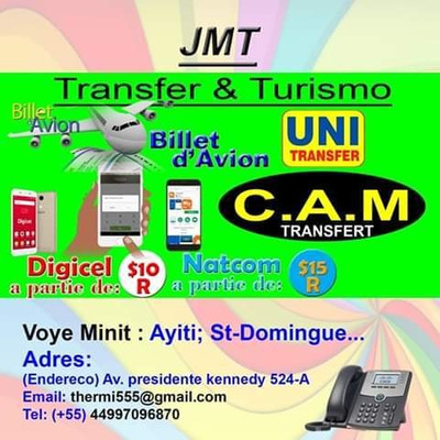 Jmt Transfert & Turismo
