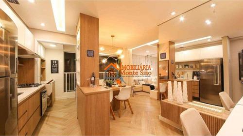 Imagem 1 de 25 de Apartamento Com 2 Dormitórios À Venda, 43 M² Por R$ 230.000,00 - Vila Itapegica - Guarulhos/sp - Ap2784