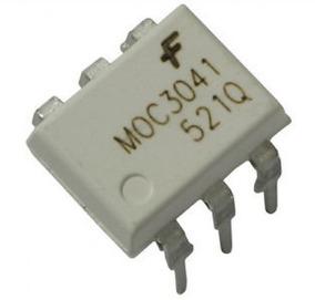 10 Moc3041 Optoacoplador 3041m 3041
