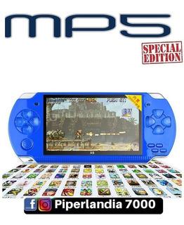 Consola Mp5 Simil Psp 4gb Slot Hasta 32gb Juegos + Envió