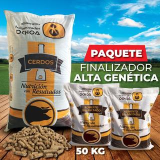 Alimento Para Cerdos / Paquete Finalizador Alta Genética