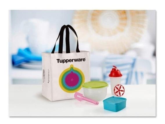 Kit Tupperware Set 5 Elementos Mas Un Recetario