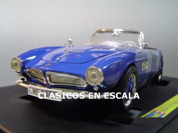 Bmw 507 Touring Sport Cabrio 1956 Clasico - Revell 1/18