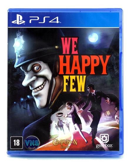 We Happy Few - Ps4 - Playstation 4 - Mídia Física - Lacrado